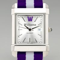Williams College Men's Collegiate Watch w/ NATO Strap