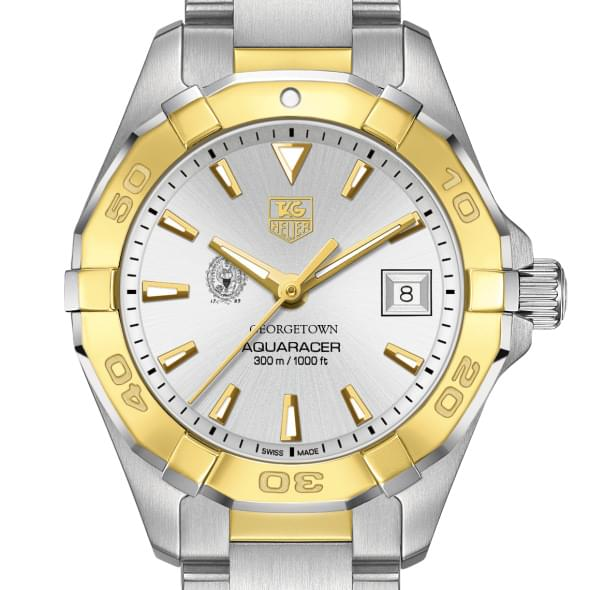 Georgetown Women's TAG Heuer Two-Tone Aquaracer
