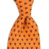 Virginia Vineyard Vines Tie in Orange