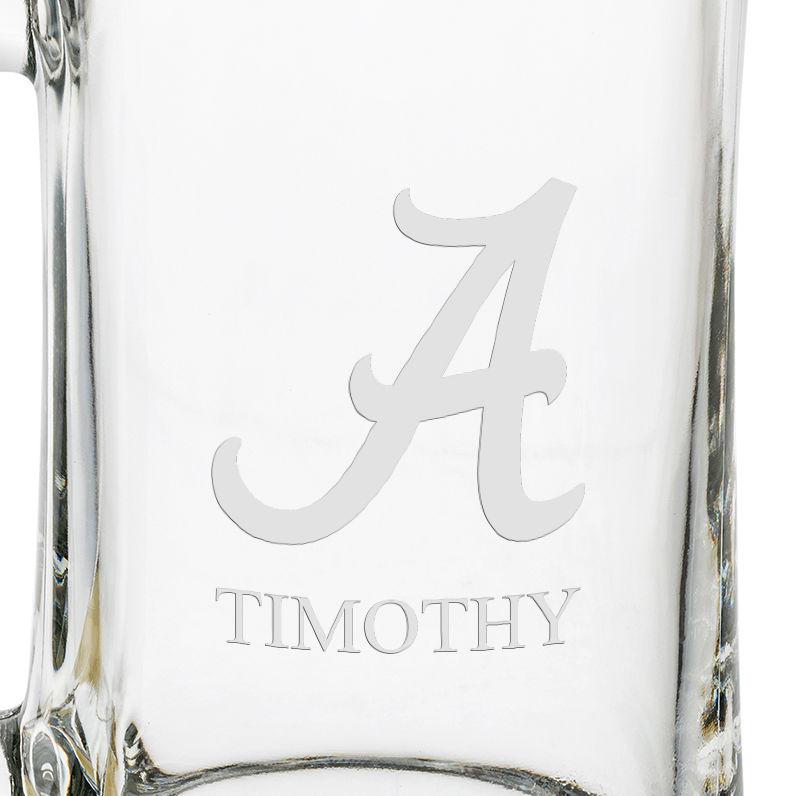 Alabama 25oz Glass Stein