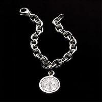 UVA Sterling Silver Charm Bracelet