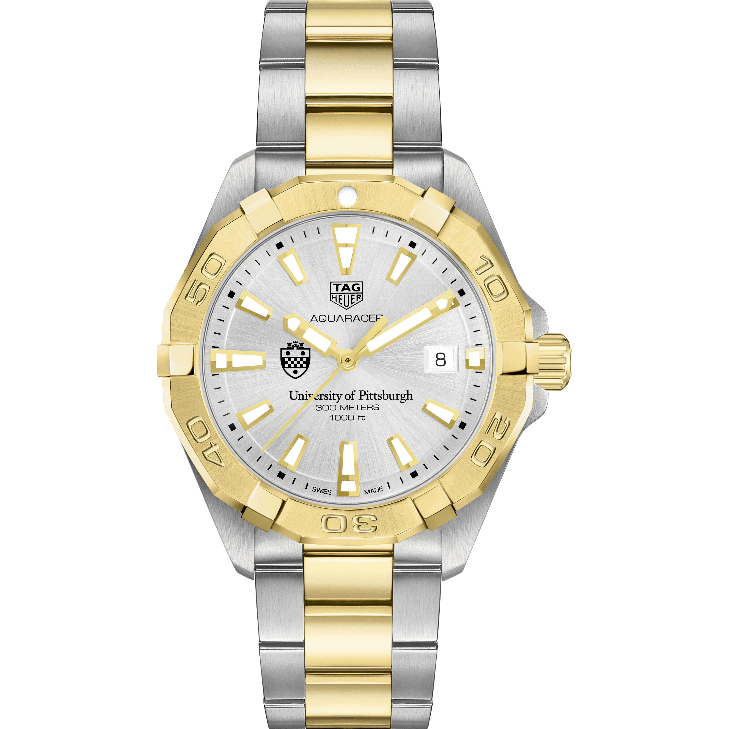 Pitt Men's TAG Heuer Two-Tone Aquaracer