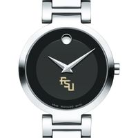 Florida State Women's Movado Museum with Steel Bracelet