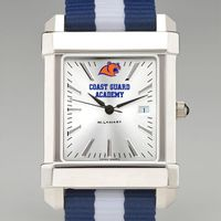 Coast Guard Academy Men's Collegiate Watch w/ NATO Strap