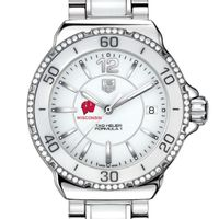 Wisconsin Women's TAG Heuer Formula 1 Ceramic Diamond Watch