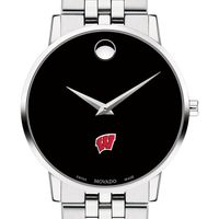 Wisconsin Men's Movado Museum with Bracelet