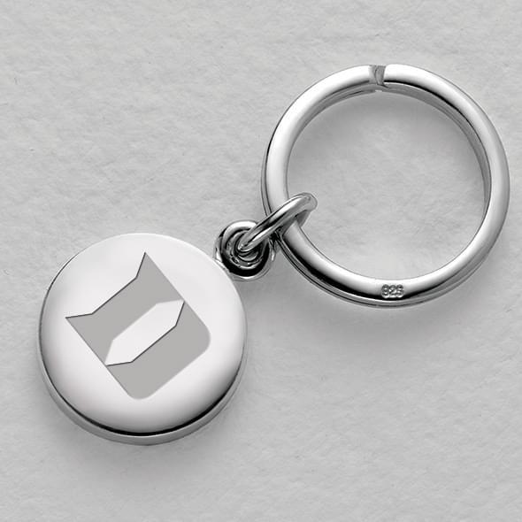 Duke Sterling Silver Insignia Key Ring