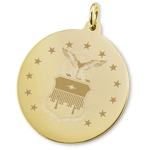 Air Force Academy 14K Gold Charm