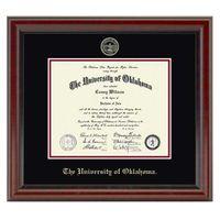 Oklahoma Fidelitas Bachelors/Masters Diploma Frame