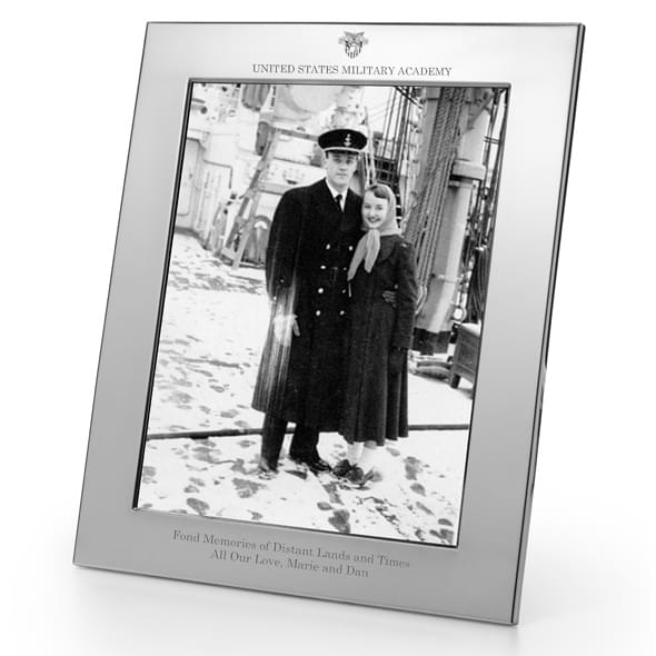 West Point Polished Pewter 8x10 Picture Frame