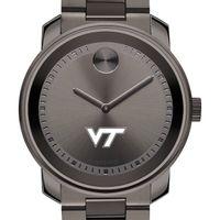 Virginia Tech Men's Movado BOLD Gunmetal Grey