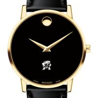 Maryland Men's Movado Gold Museum Classic Leather
