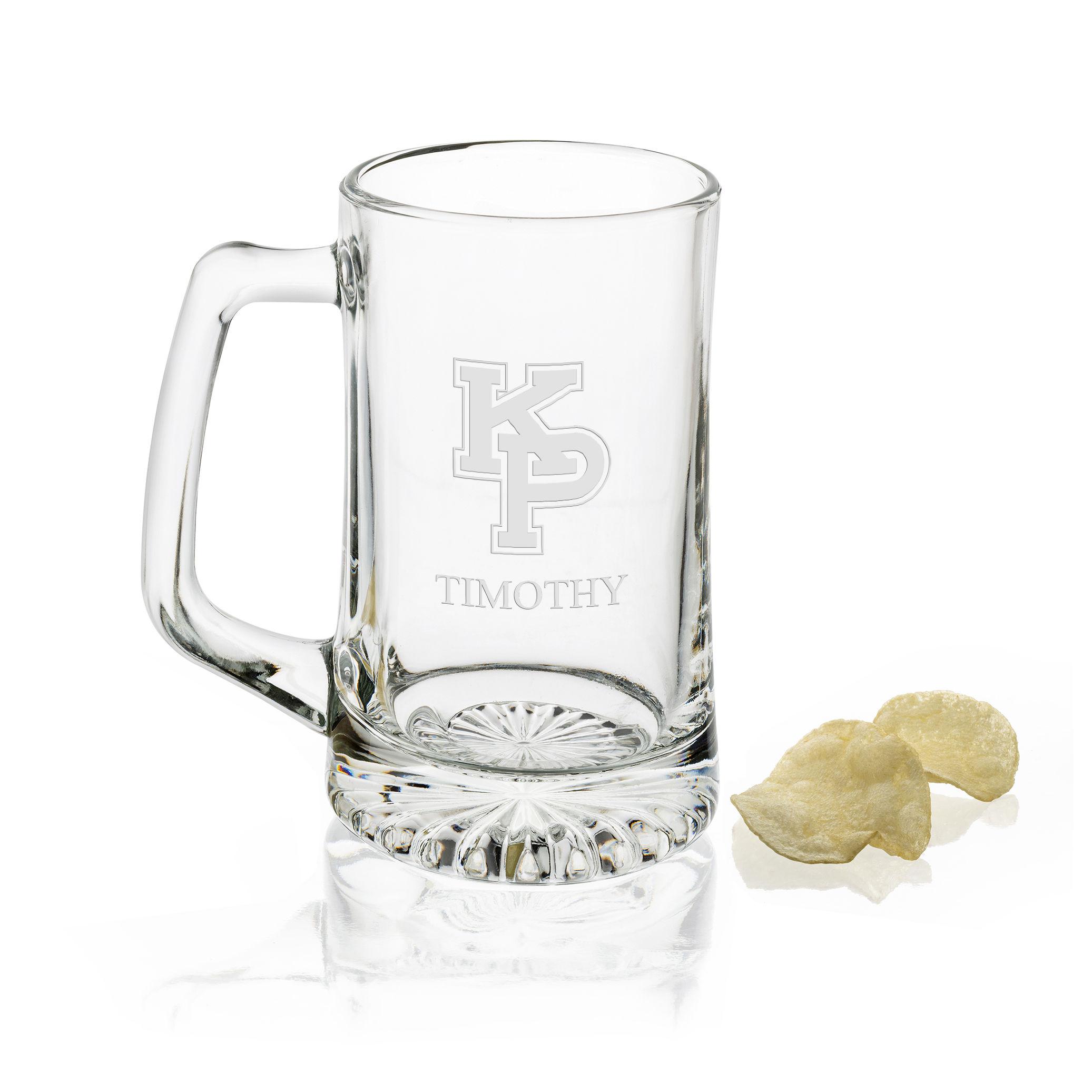 USMMA Glass Stein