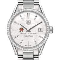 Maryland Women's TAG Heuer Steel Carrera with MOP Dial & Diamond Bezel