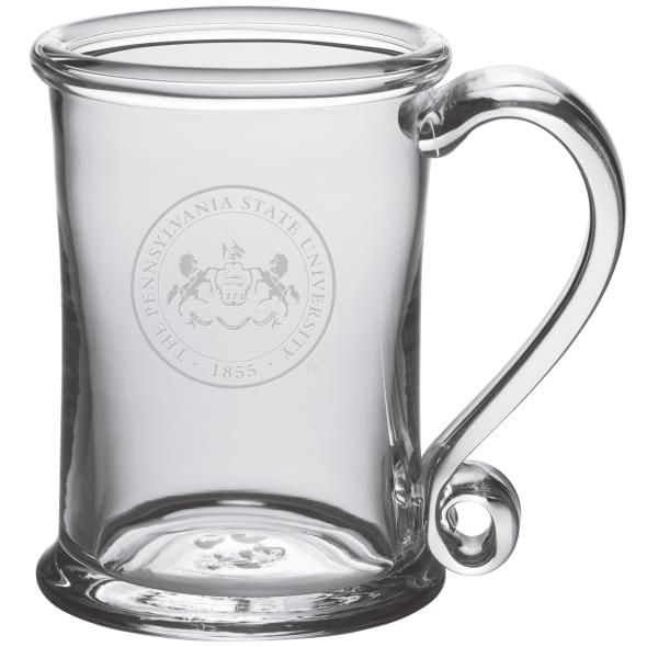 Penn State Glass Tankard by Simon Pearce