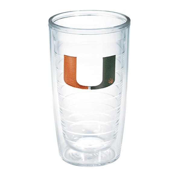 Miami 16 oz. Tervis Tumblers - Set of 4
