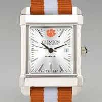 Clemson Men's Collegiate Watch with NATO Strap
