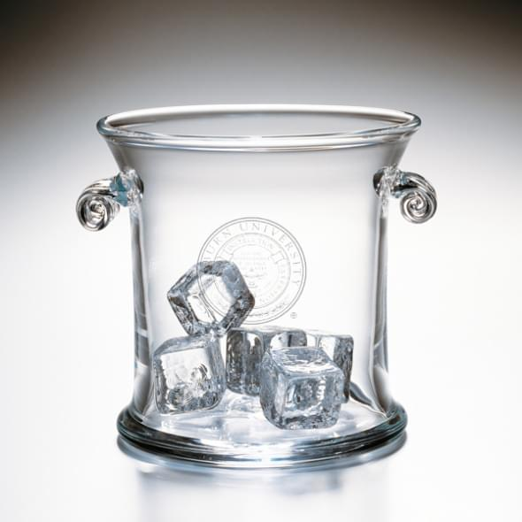Auburn Glass Ice Bucket by Simon Pearce