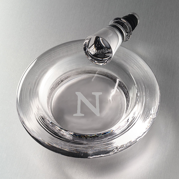 Northwestern Glass Wine Coaster by Simon Pearce
