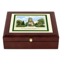 Michigan State Eglomise Desk Box
