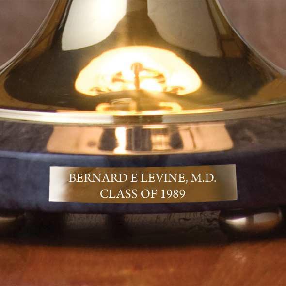 Baylor Brass & Marble Lamp