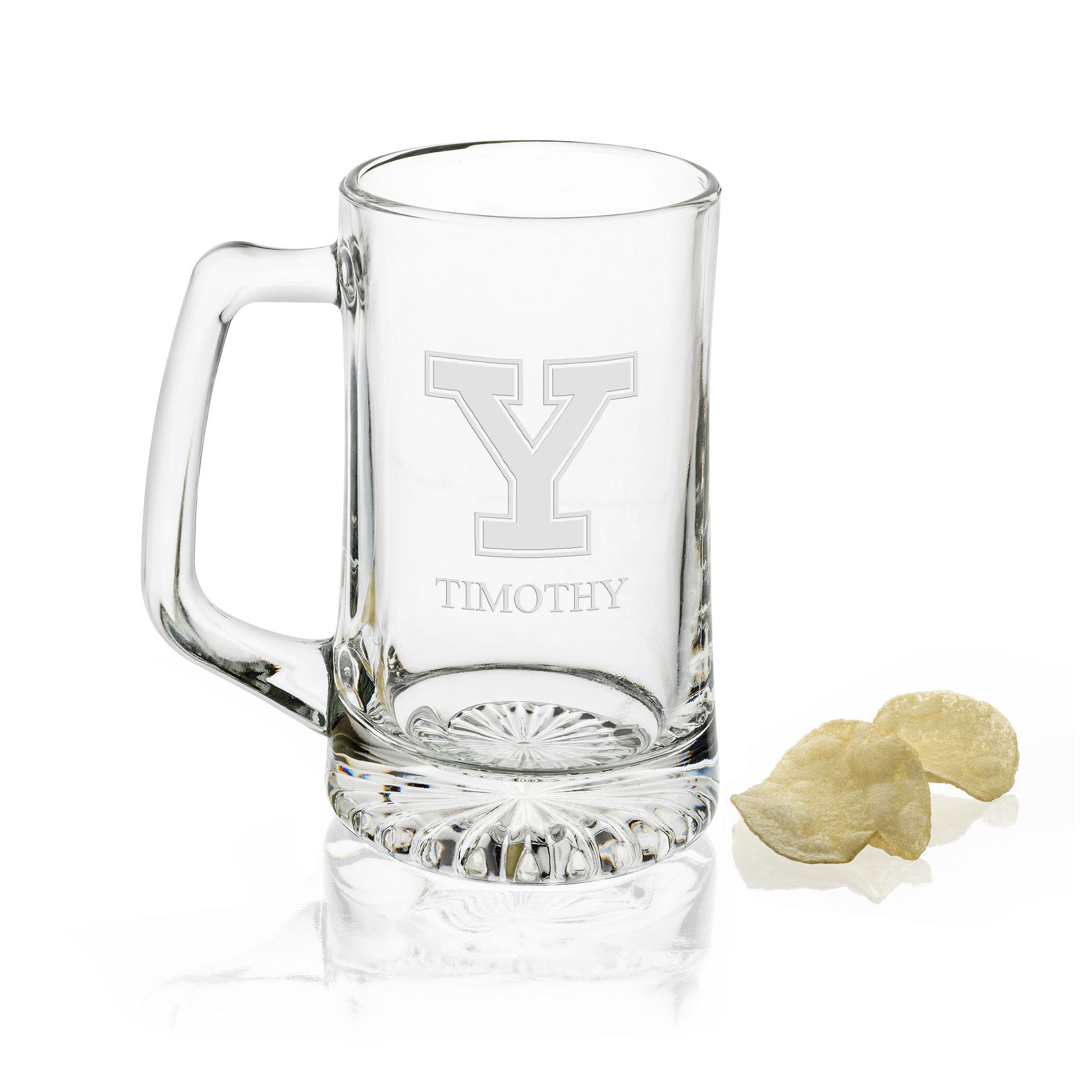 Yale 25 oz Beer Mug