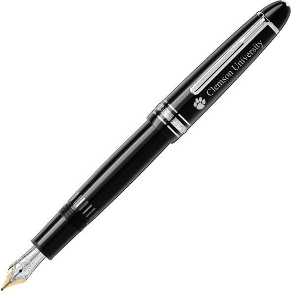 Clemson Montblanc Meisterstück LeGrand Pen in Platinum