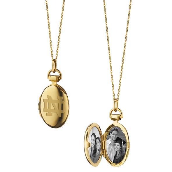 notre dame rich kosann locket in gold at m