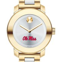 Ole Miss Women's Movado Two-Tone Bold