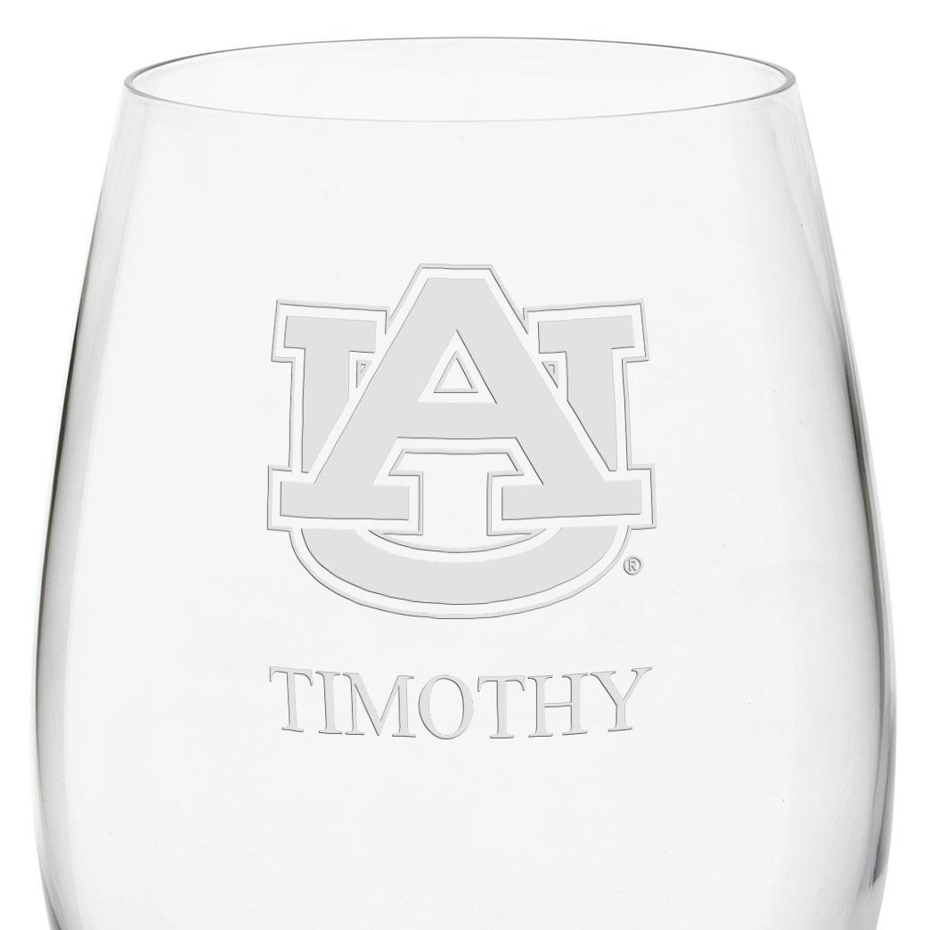 Auburn Red Wine Glasses - Set of 4