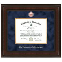 Ole Miss Excelsior Diploma Frame Image-1 Thumbnail