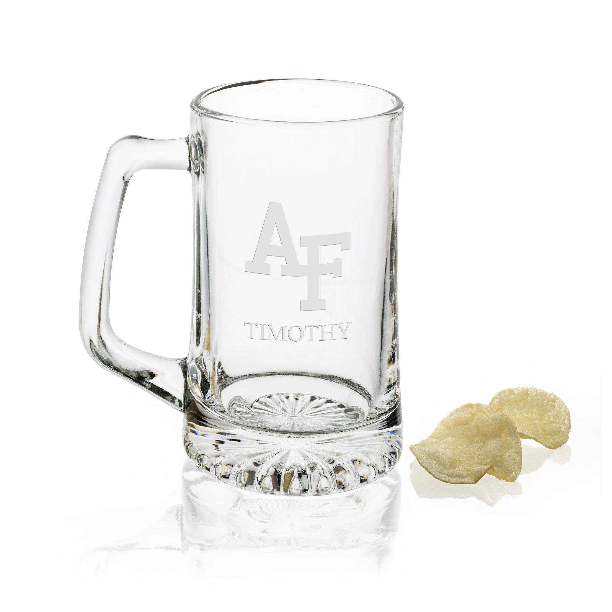 USAFA Glass Stein