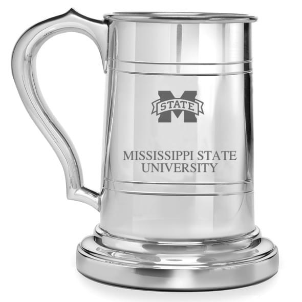 Mississippi State Pewter Stein