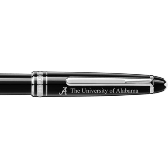 Alabama Montblanc Meisterstück Classique Rollerball Pen in Platinum