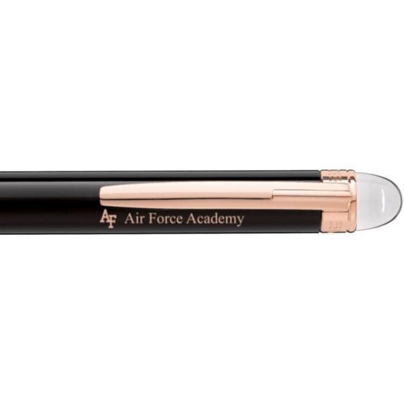 US Air Force Academy Montblanc StarWalker Ballpoint Pen in Red Gold