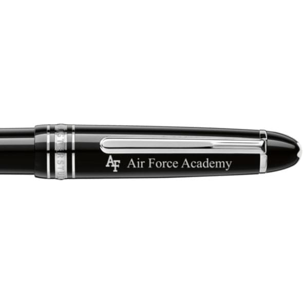 US Air Force Academy Montblanc Meisterstück Midsize Ballpoint Pen in Platinum