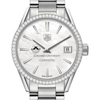 Columbia Women's TAG Heuer Steel Carrera with MOP Dial & Diamond Bezel