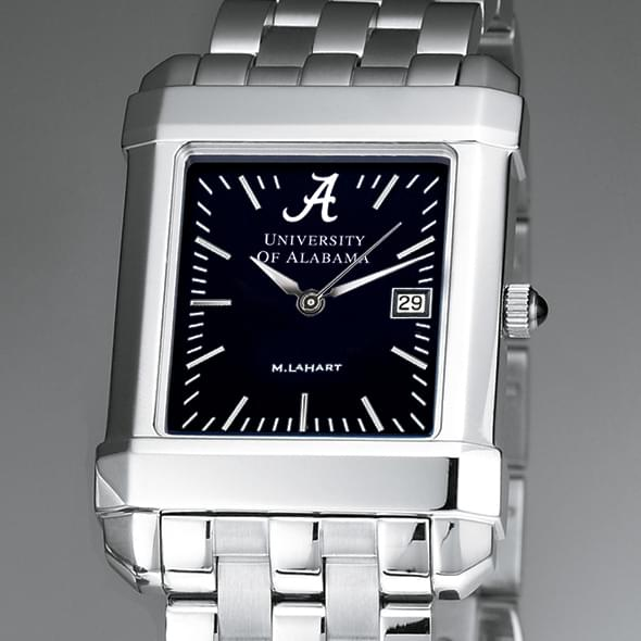 Alabama Men's Black Quad Watch with Bracelet
