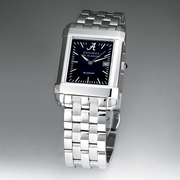 Alabama Men's Black Quad Watch with Bracelet