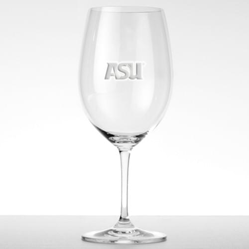 Arizona State Red Wine - Set of 4