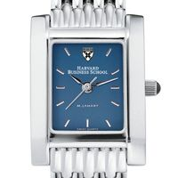 Harvard Business School Women's Blue Quad Watch with Bracelet
