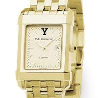 Yale Men's Gold Quad Watch with Bracelet