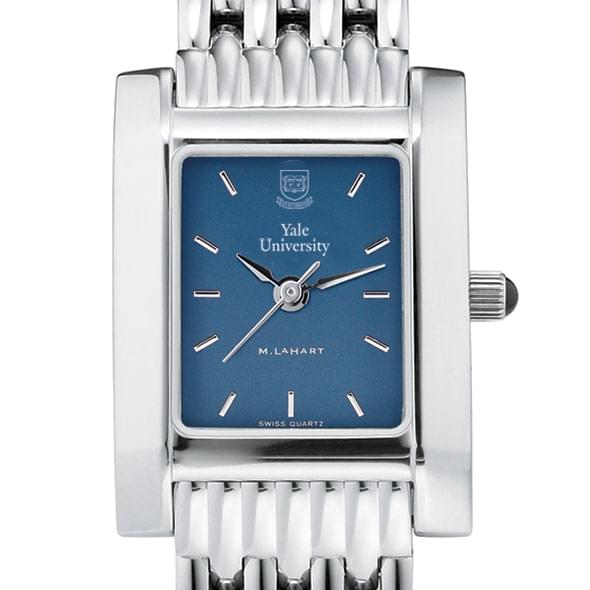 Yale Women's Blue Quad Watch with Bracelet