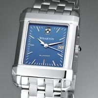Wharton Men's Blue Quad Watch with Bracelet