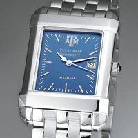 Texas A&M Men's Blue Quad Watch with Bracelet