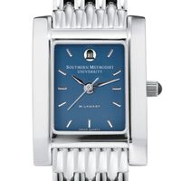 SMU Women's Blue Quad Watch with Bracelet Image-1 Thumbnail