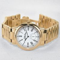 William & Mary Men's Classic Watch with Bracelet