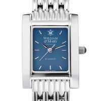 William & Mary Women's Blue Quad Watch with Bracelet