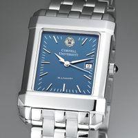 Cornell Men's Blue Quad Watch with Bracelet