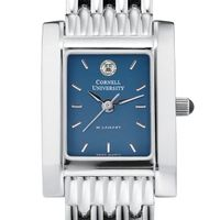 Cornell Women's Blue Quad Watch with Bracelet